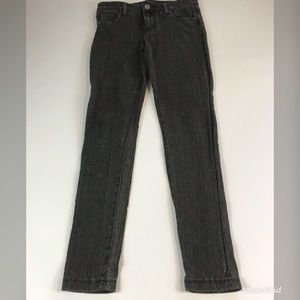 Kut from the Kloth Skinny Jeans Black/Gray Stretch
